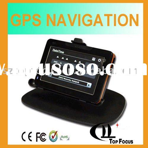 "4.3""LH900N all in one gps with radar detector cheap gps"