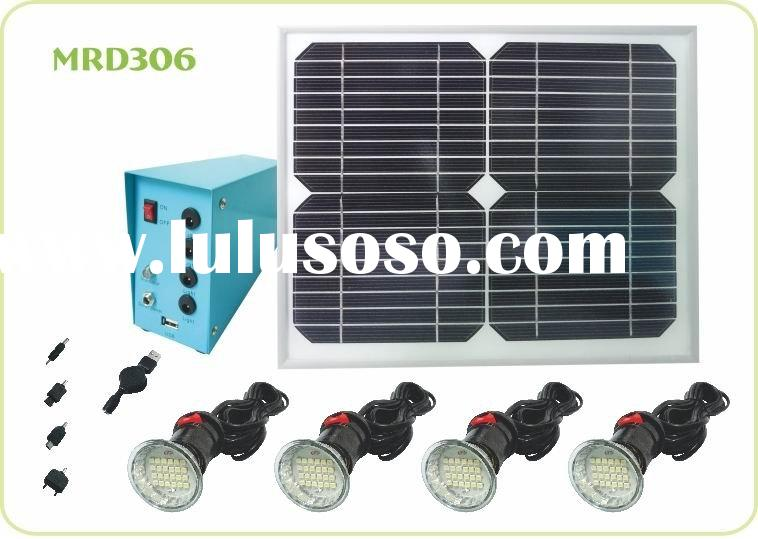 4 LED Solar lamp solar indoor light solar lighting MRD 306 Solar Home Light