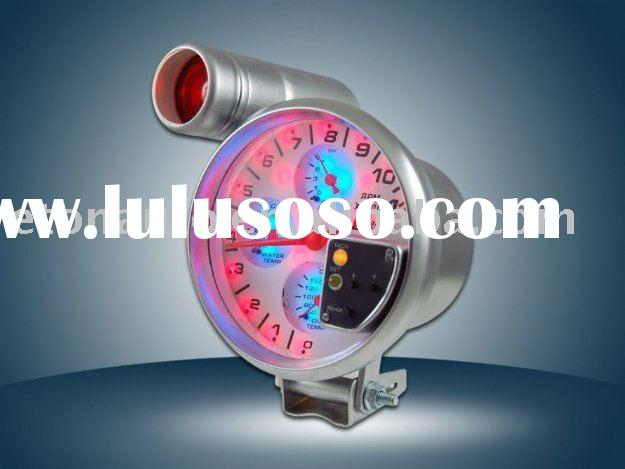 4-in-1 digital tachometer/water temp/oil pressure/volt gauge