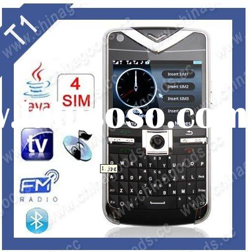4 sim card mobile phone 4 sim 4 standby TV (accept paypal)