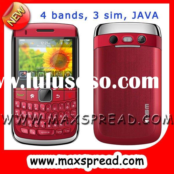 4 sim tv mobile phone with pinhole camera MAX-8980