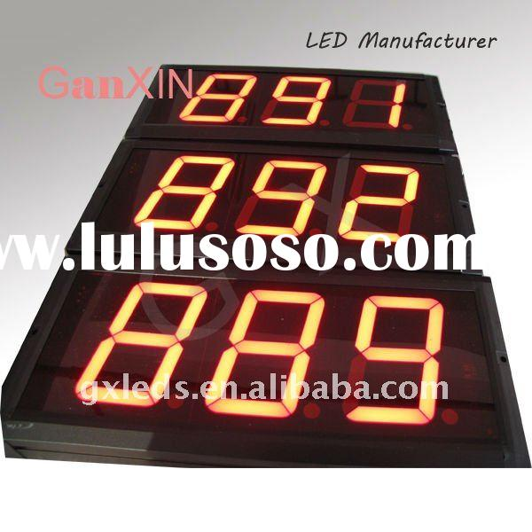 4inch 3digits wall clock low price led digital clock display