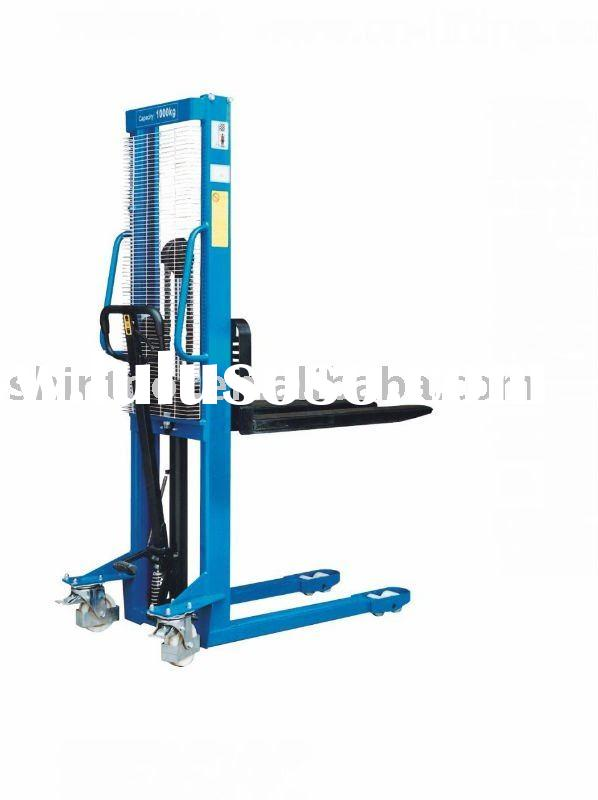 500kg Forklift manual pallet stacker/hydraulic manual stacker