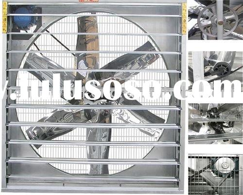 50'' negative pressure greenhouse/poultry ventilation fan z