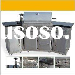 5B+RB Stainless Steel GAS Grill Island