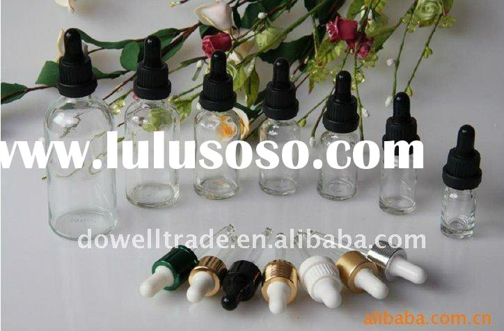 5ml-100ml clear Glass Essential Oil Bottles With Dropper and Plastic cap