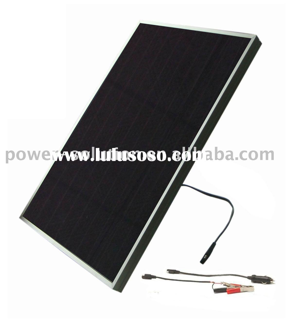 5w solar car battery charger(PS-A05)