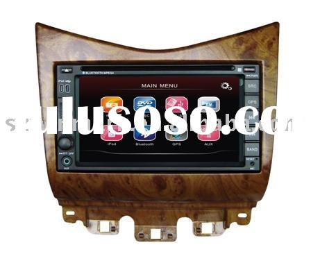 6.2 inch double din touch screen car dvd players system for honda accord with gps