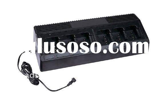 6 bay/way charger for HT1000,GP380,CP040,TK260,TK3148,BP210 walkie talkie/two-way radio