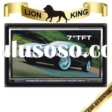 7' Car DVD +2 DIN+GPS+RDS+TV+Bluetooth