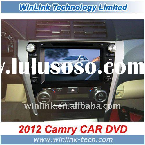 7 Inch 2 Din Car GPS Navigation Toyota Camry 2012 With DVD Radio Bluetooth TMC DVB-T ISDB-T