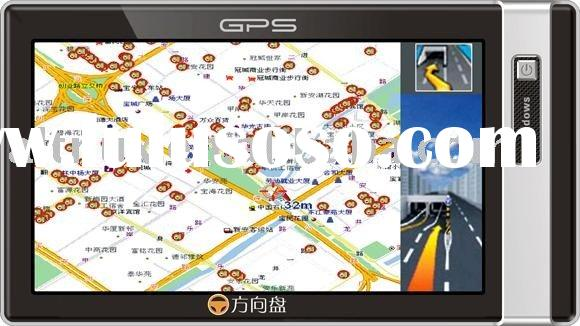 """7"""" LCD Touch Screen Vehicle Car GPS Tracker Tracking/MP3 MP4 Player/FM/Bluetooth/AV in"""