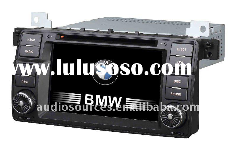 "7"" LCD touch screen car stereo system gps for BMW E46 with DVB-T,RADIO,RDS,IPOD,can-bus"