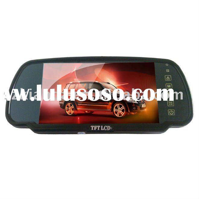 7 '' TFT LCD Screen Rear View Mirror Car Monitor