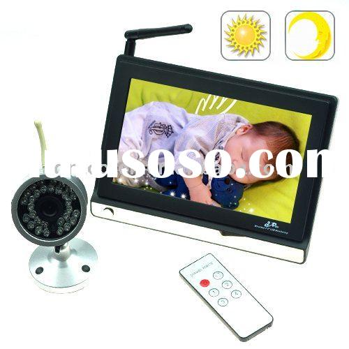 "7"" TFT LCD baby Monitor IR Security Camera + 2.4GHz Wireless BMIRN71"