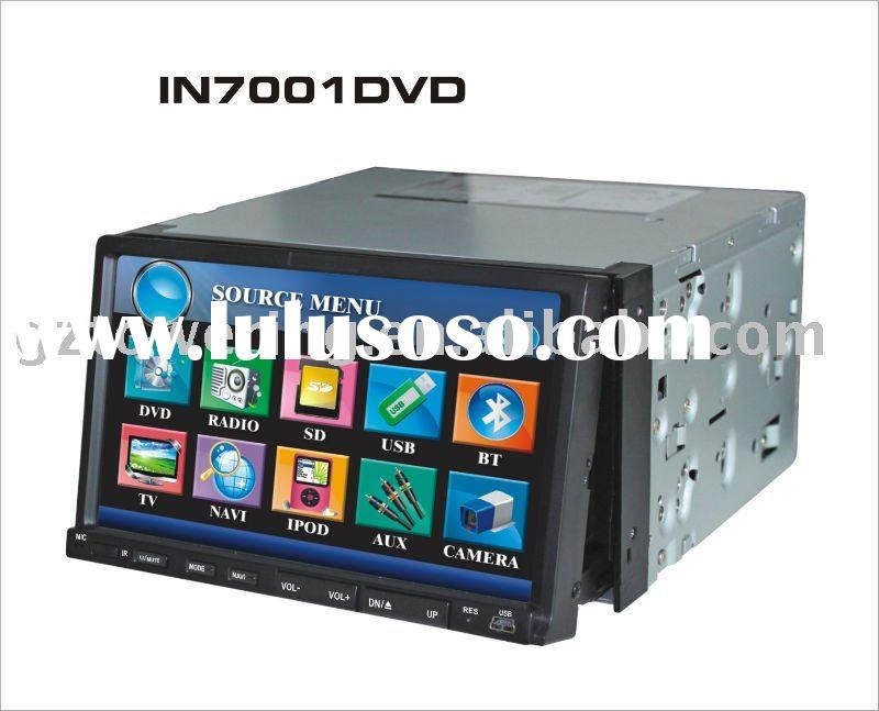 7 inch double din car dvd player with radio system For Ford Mondeo/2009 Ford Focus/S-max