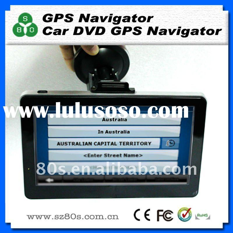 7 inch high definition slim gps navigation, car gps navigation,gps with free 3D Australia map