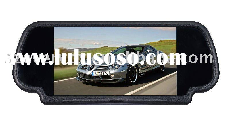"7"" rear view mirror car tft color lcd monitor"