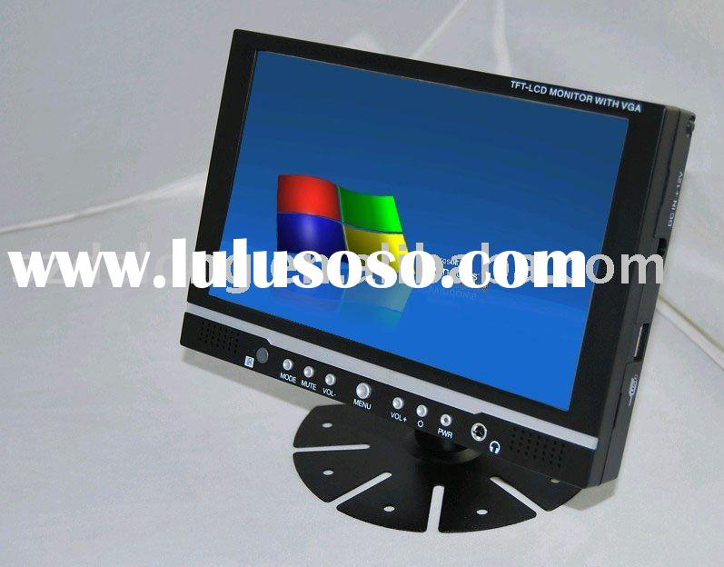 7inch Touch Screen car monitor with VGA/AV/ LED backlight