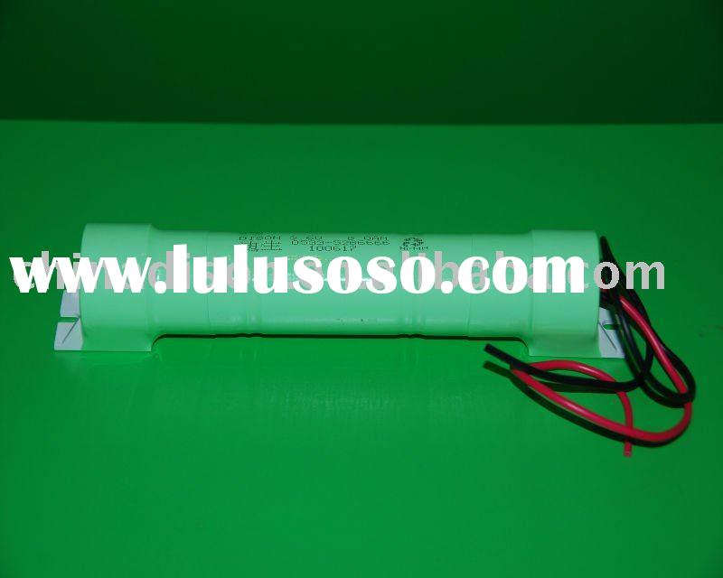 8000mAh Rechargeable Battery Ni-MH Battery Pack of 3.6V D Type