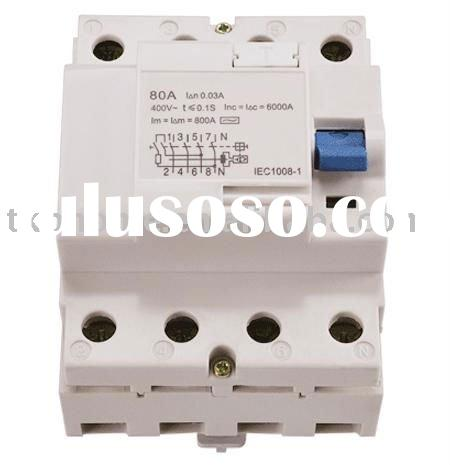 80A,100A Residual Current Circuit Breaker (RCCB) / residual current device(RCD)