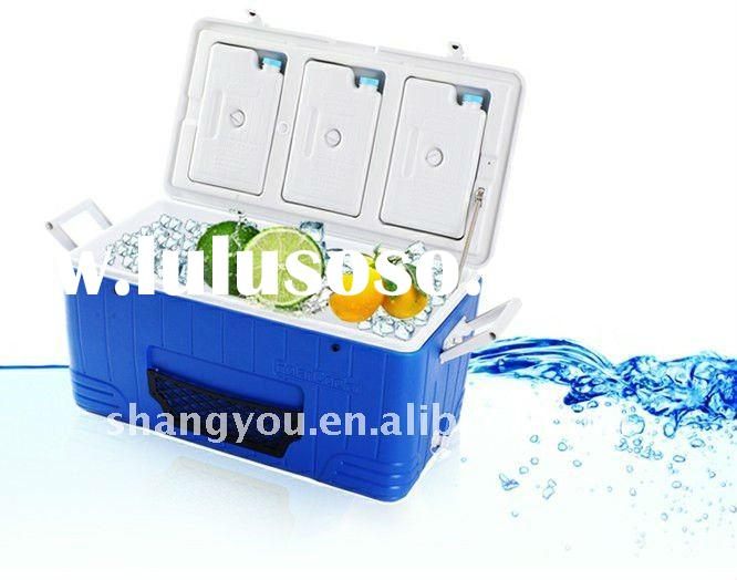 80L portable fishing ice cooler box