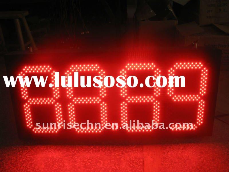 88.88 7 segments LED gas price station signs/display/panel
