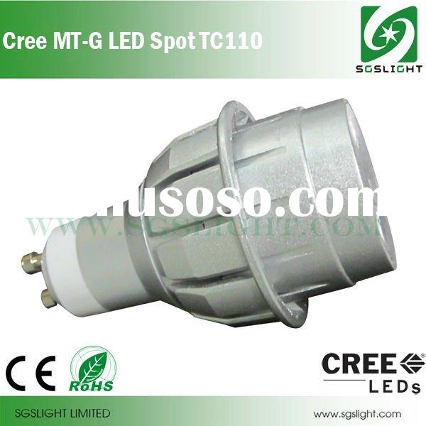 8W Replacing 75W CREE MT-G dimmable GU10 led spot light
