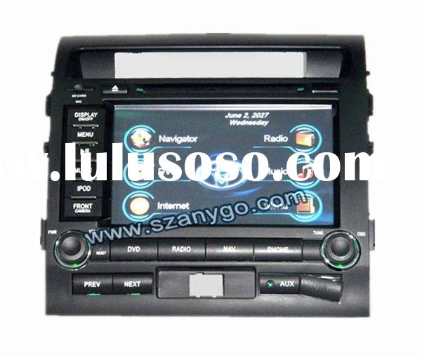 "8"" Car DVD Players Touch Screen with GPS Bluetooth DVD Ipod BT TV tuner USB2.0"