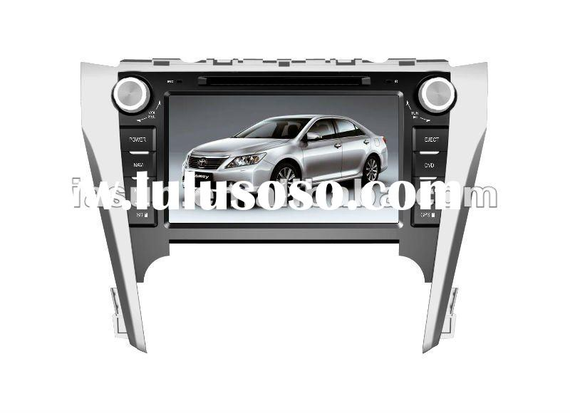 8 inch double din car dvd with GPS for TOYOTA CAMRY 2012
