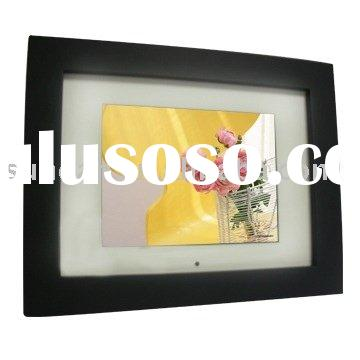 8 inch matt finish wooden digital photo frame
