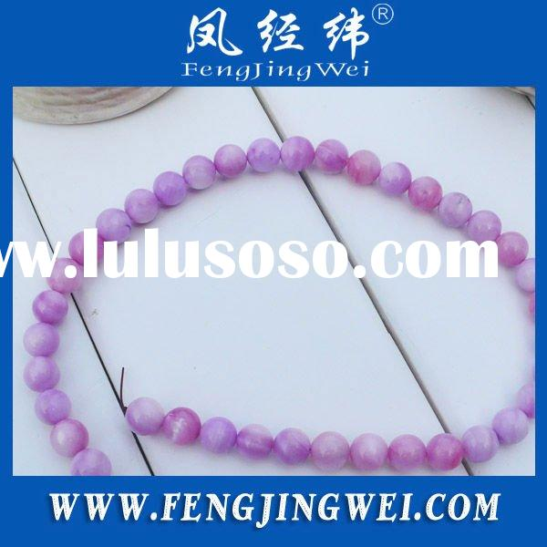 8mm round shell bead