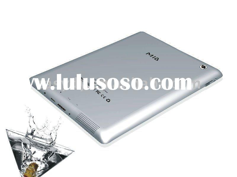 9.7 inch MID Tablet PC with Android 2.2 OS and VIA 8650 CPU, Support Adobe Flash 10.1,720P Playing,O