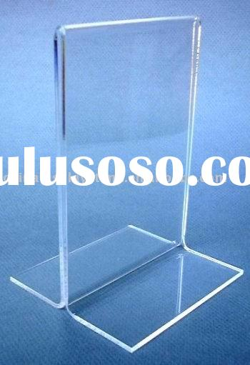 A3,a4 Clear Acrylic Poster / poster frame, acrylic poster stands