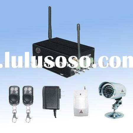 ABS-8000-GSM-M3/M4 MMS Camera Aalarm system with 1CH/4CH GSM terminal GSM security alarm system