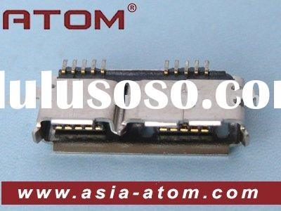 AB Type Female connector Micro USB 3.0