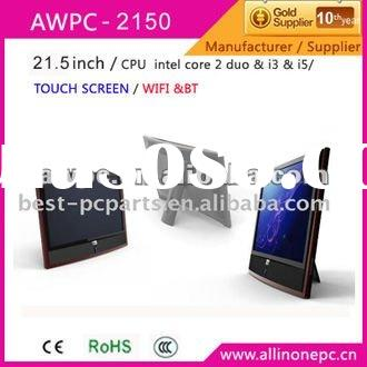AWPC NEW All in one touch screen PC 21.5'' touch screen computer all in one