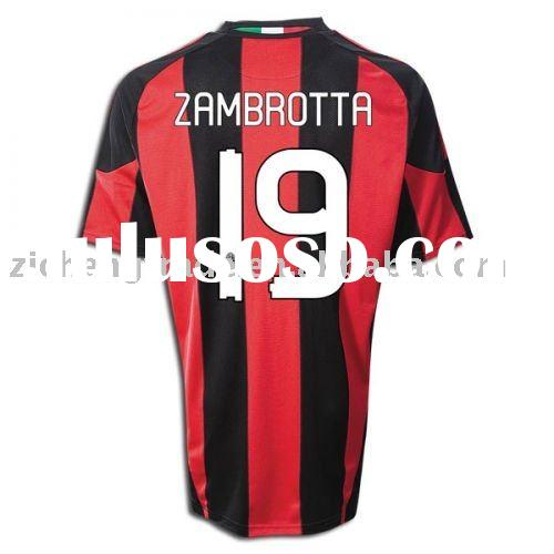 Ac Milan 10-11 Home Infant Football Jerseys For Wholesale