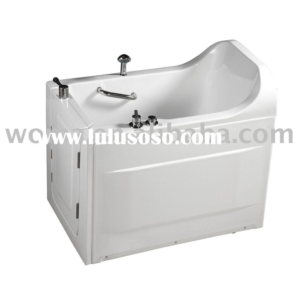 Acry walk in bathtub WM378 for old people & disabled