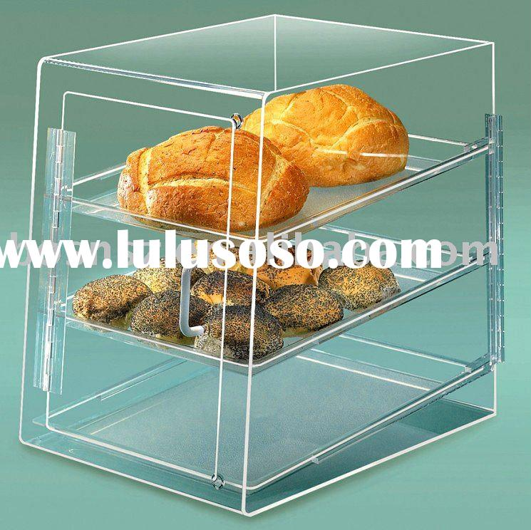 Acrylic Bakery Case,Plexiglass Cake Box,Perspex Pastry Display