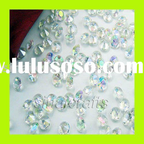 Acrylic Diamond Confetti Wedding Party Table Decor
