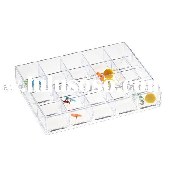 Acrylic Sectioned Drawer Dividers