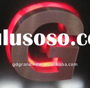 Acrylic Waterproof LED Backlight Letter Sign