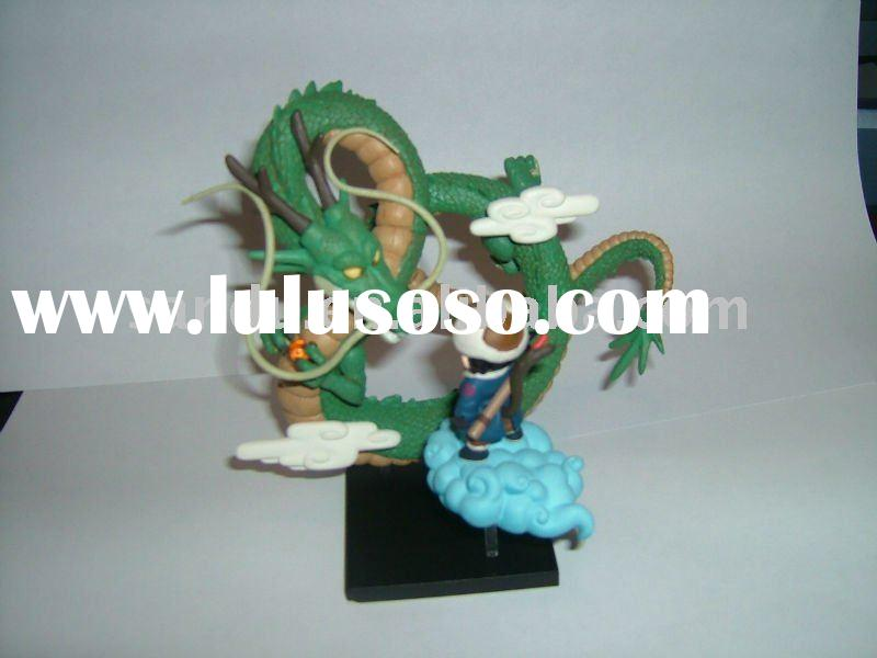 Action Figure, Dragon Ball, green dragon