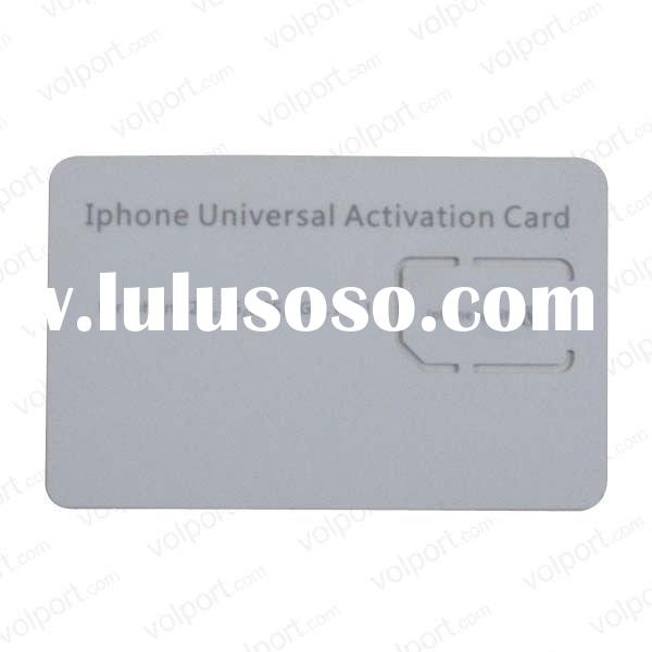 Active dual sim card for mobile phone Iphone 4g
