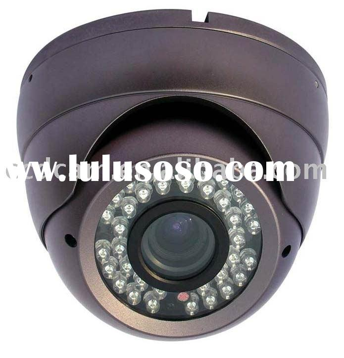 Adjust focal length Color Vandal Proof IR Dome Camera