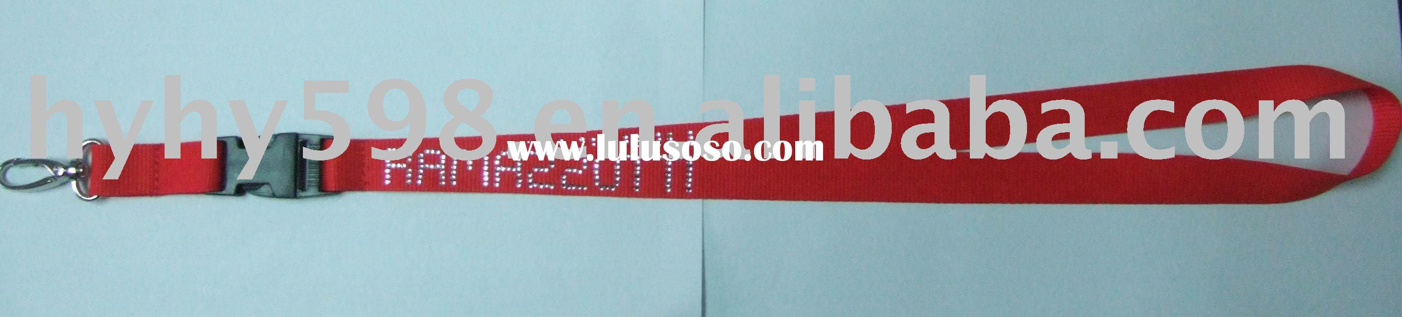 All kinds of lanyard, keychain, heat transfer the stone, with competitive price