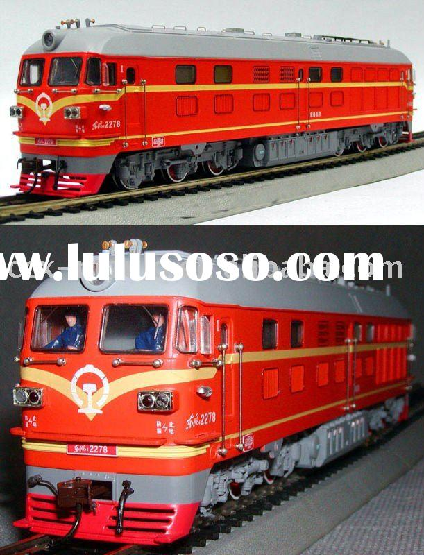 Alloy model toy train