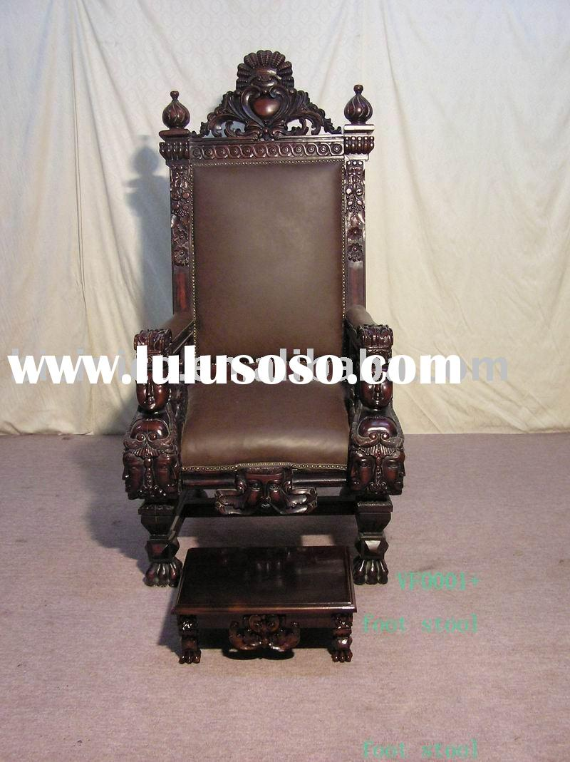 American style King chair,living room chair,arm chair,living room furniture,classical home furniture