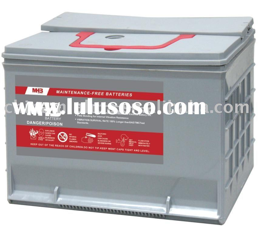 Auto/Car battery,maintenance free car battery